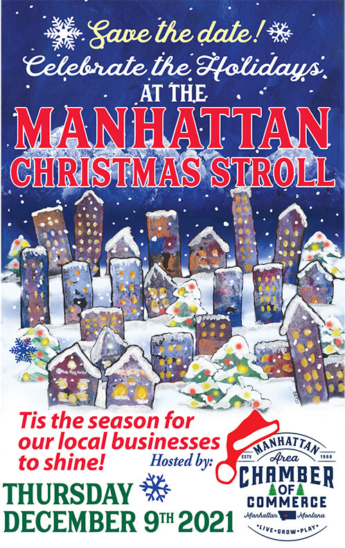 Manhattan Christmas Stroll @ Manhattan MT